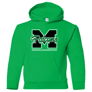 Youth Falcons Pullover Hooded Sweater